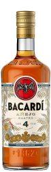 Bacardi anejo cuatro 4 years